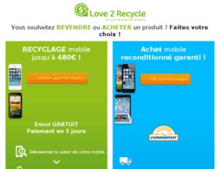 regenerationmobile.fr screenshot