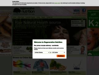 regenerativenutrition.com screenshot
