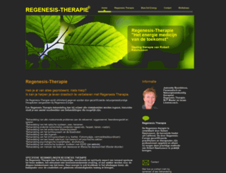 regenesis-therapie.nl screenshot