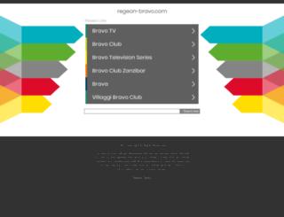 regeon-bravo.com screenshot