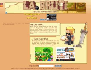 regg.labrute.fr screenshot