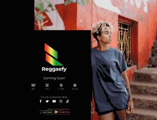 reggaefy.com screenshot