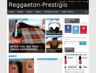 reggaeton-prestigio.com screenshot
