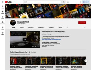 reggaetrade.com screenshot