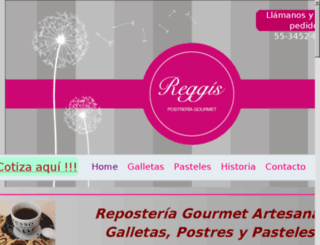 reggisgourmet.com screenshot