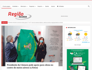 regiaodeagueda.com screenshot