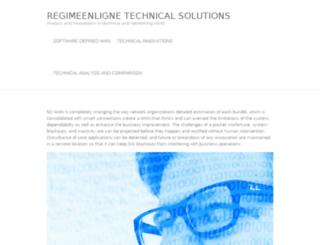 regimeenligne.com screenshot