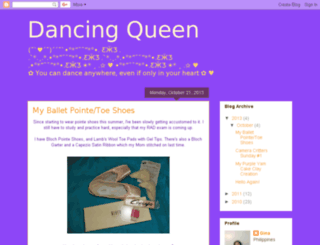 reginaballerina.blogspot.com screenshot