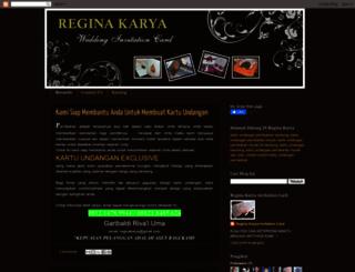 reginakarya.blogspot.com screenshot