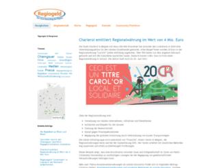 regiogeld.de screenshot