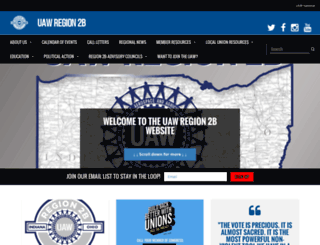 region2b.uaw.org screenshot