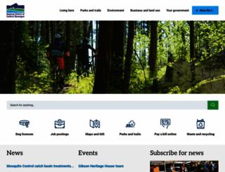 regionaldistrict.com screenshot