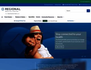 regionalmedicalsanjose.com screenshot