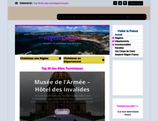 regionfrance.com screenshot