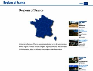 regions-of-france.com screenshot