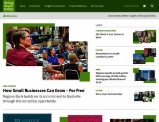 regionsbanknews.com screenshot