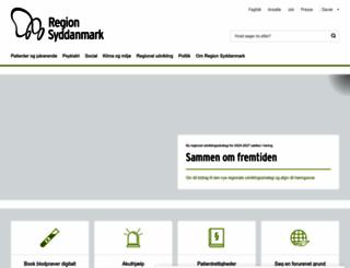 regionsyddanmark.dk screenshot