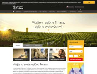 regiontirnavia.sk screenshot