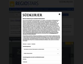 regiostars.suedkurier.de screenshot