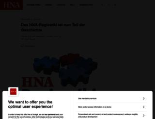 regiowiki.hna.de screenshot
