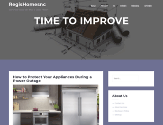 regishomesnc.com screenshot