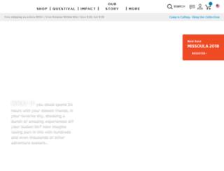 register.cotopaxi.com screenshot
