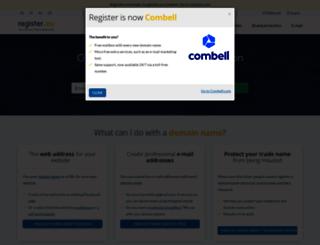 register.eu screenshot
