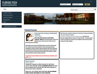 register.fit.edu screenshot