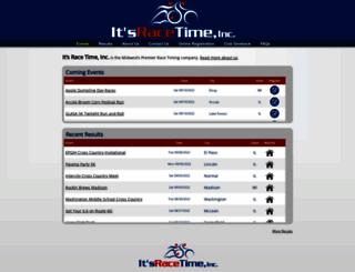 register.itsracetime.com screenshot