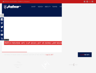 register.johorsoutherntigers.com.my screenshot