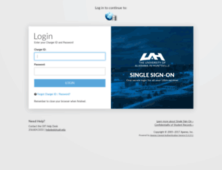 register.uah.edu screenshot