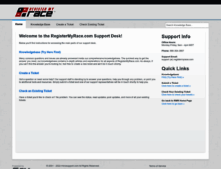 registermyrace.rhinosupport.com screenshot
