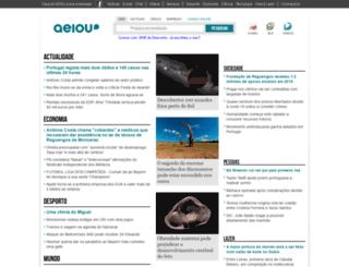 registo.weblog.com.pt screenshot