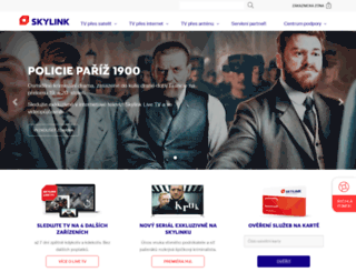 registrace.skylink.cz screenshot