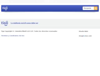 registraequipo.tigocloud.net screenshot