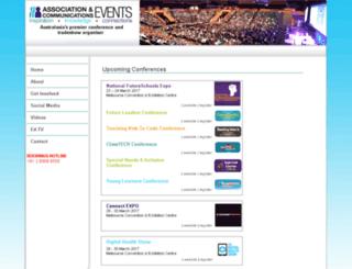 registration.acevents.com.au screenshot
