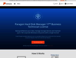 registration.paragon-software.com screenshot