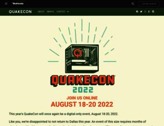 registration.quakecon.org screenshot