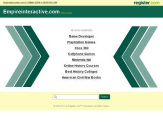 registrations.empireinteractive.com screenshot