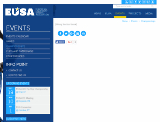 registrations.eusa.eu screenshot