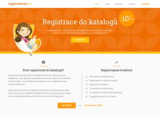 registratorka.cz screenshot