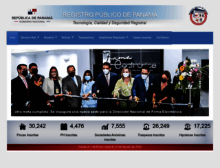 registro-publico.gob.pa screenshot