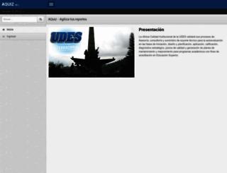 registro.udes.edu.co screenshot