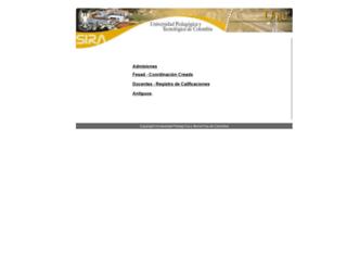 registro.uptc.edu.co screenshot