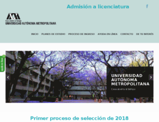 registro1.uam.mx screenshot
