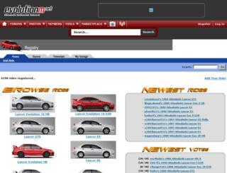 registry.evolutionm.net screenshot