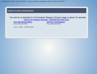 registry.faa.gov screenshot