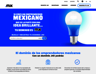 registry.mx screenshot