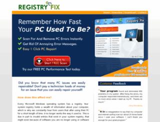 registryfix.com screenshot