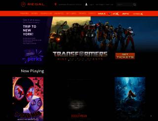 regmovies.com screenshot